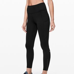 Fast & Free 7/8 Tight Nulux, Black Size 4